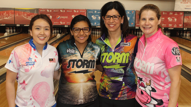 Sin earns top seed, Johnson qualifies for fifth TV finals at Pepsi PWBA Lincoln Open