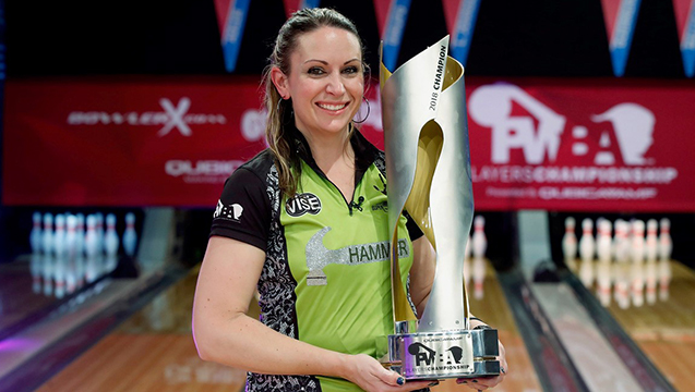 Stefanie Johnson wins 2018 QubicaAMF PWBA Players Championship