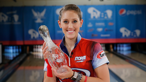 MCEWAN CAPTURES SECOND CAREER TITLE AT PWBA WICHITA OPEN