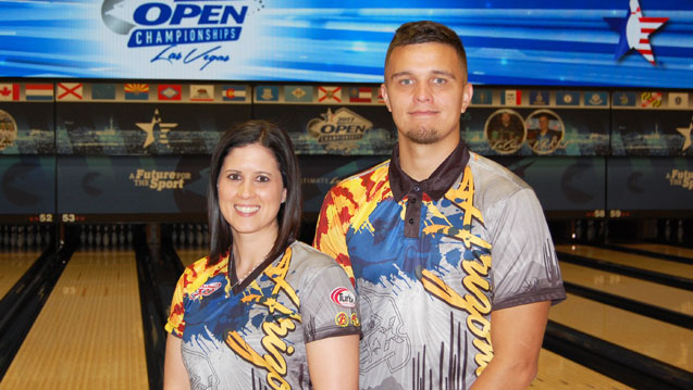 Coté finds early success at 2017 USBC Open Championships