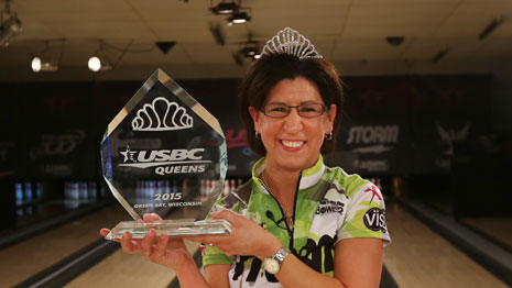 Liz Johnson claims second USBC Queens title