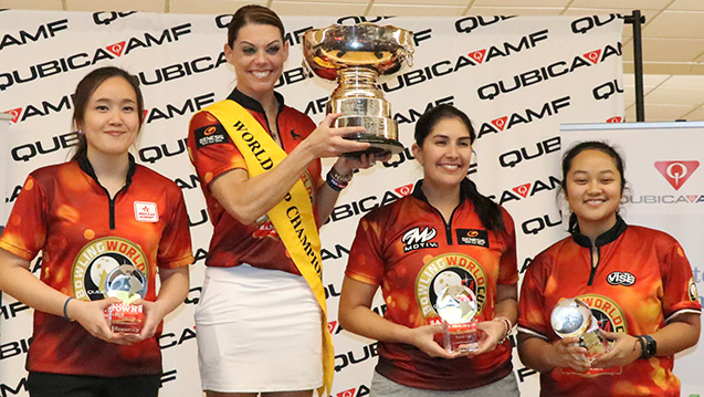 PWBA concludes successful week at 2018 QubicaAMF World Cup as O'Keefe claims title