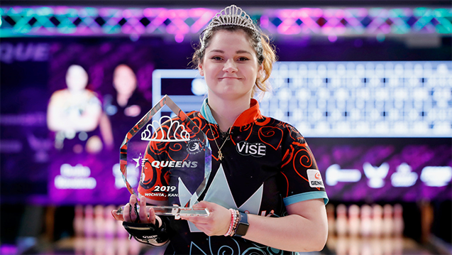 Dasha Kovalova wins 2019 USBC Queens