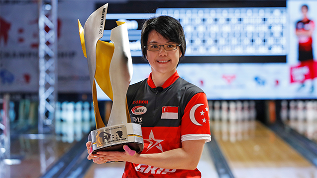 Cherie Tan wins 2019 QubicaAMF PWBA Players Championship